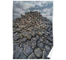 Quiet Morning at Giant's Causeway Poster
