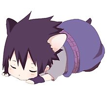Chibi Sasuke Kitty by Alysan