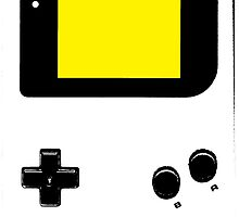 Graffiti Game Boy - Yellow by HighlyAnimated