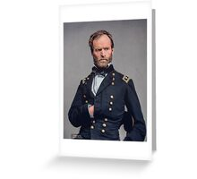 General William T. Sherman - Civil War Greeting Card