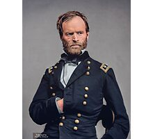 General William T. Sherman - Civil War Photographic Print