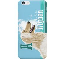 A is for Afghan iPhone Case/Skin