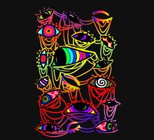 Psychedelic Eyes - Hallucinogenic and Colourful Unisex T-Shirt