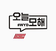 2016 YG IKON MV #WYD Cotton Hoodie korean fashion style clothing k pop  Unisex T-Shirt