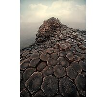 Sunny morning at Giant's Causeway Photographic Print