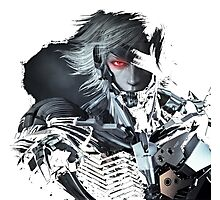 Metal Gear Solid Raiden Photographic Print