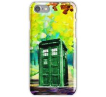 Tardis Art Paint iPhone Case/Skin