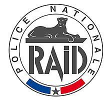 Raid special forces france Photographic Print