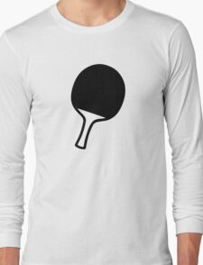 Ping Pong table tennis paddle Long Sleeve T-Shirt