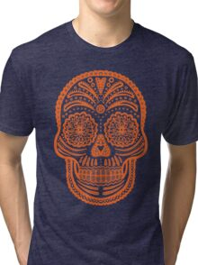 Skulla Day of the Dead Tri-blend T-Shirt