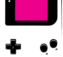 Graffiti Game Boy - Magenta by HighlyAnimated