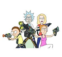Rick and Morty It's Go Time Photographic Print