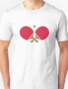 Crossed ping pong paddles T-Shirt