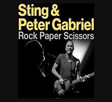 sting and gabriel paper scissors tour Unisex T-Shirt