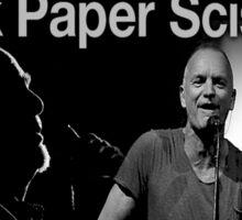 sting and gabriel paper scissors tour Sticker