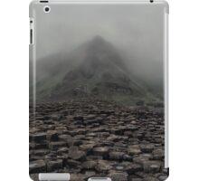 Foggy morning in Giant's Causeway iPad Case/Skin