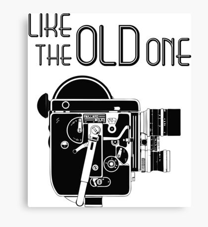 """Like The """"Old"""" One Canvas Print"""