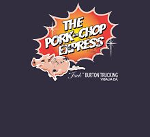 Pork Chop Express - Distressed Light Glow Variant Womens Fitted T-Shirt