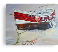 Rose of England, Staithes Canvas Print