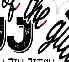 BJJ Brazilian Jiu Jitsu - King of the Guard Crown Sticker