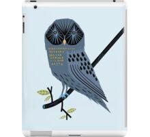 The Perching Owl iPad Case/Skin