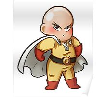 one punch man bad Chibi  Poster