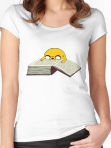 Read A Book Women's Fitted Scoop T-Shirt