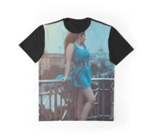 girl in blue dress Graphic T-Shirt