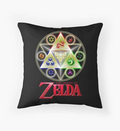 Zelda Seal Throw Pillow