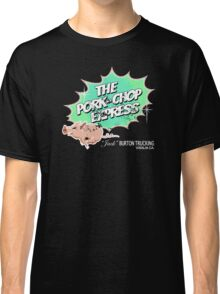 Pork Chop Express - Distressed Extreme Lime Variant Classic T-Shirt