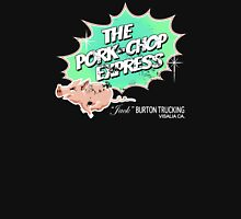 Pork Chop Express - Distressed Extreme Lime Variant Womens Fitted T-Shirt