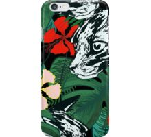 Tropical paradise. Exotic flowers. Jungle. iPhone Case/Skin