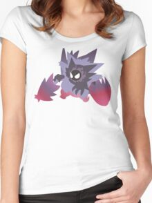 Pokemon - Gastly Evolutions Women's Fitted Scoop T-Shirt