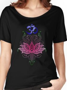 Lotus-Om Women's Relaxed Fit T-Shirt