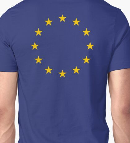EU, European, STARS, Flag, Euro, Flag of Europe, European Union, Flag, Brussels Unisex T-Shirt