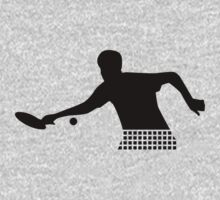 Ping Pong player One Piece - Short Sleeve