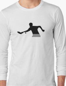 Ping Pong player Long Sleeve T-Shirt
