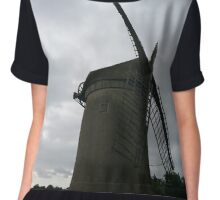 Bidston Windmill  Chiffon Top