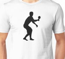 Table tennis player Unisex T-Shirt
