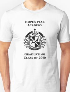 Hope's Peak Academy Graduate  Unisex T-Shirt