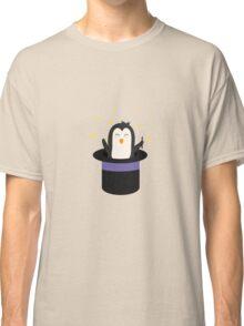 Penguin magician   Classic T-Shirt