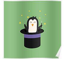 Penguin magician   Poster