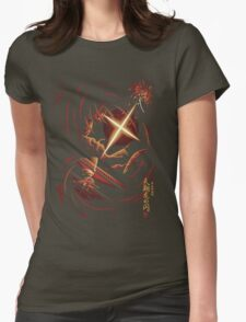 Flash of the Heavenly Dragon Womens Fitted T-Shirt