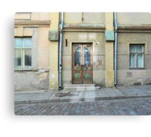Old Tallinn Door Canvas Print