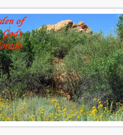 Garden of the Gods #14 Sticker