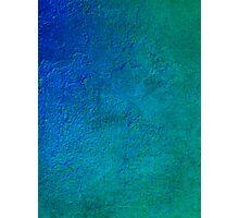 No.1 Turquoise Blue Photographic Print