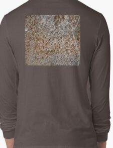 CRUMBLY, STONE, Geology, Climb, Climber, Rough, Tough, Rock and a hard place, Long Sleeve T-Shirt