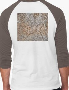CRUMBLY, STONE, Geology, Climb, Climber, Rough, Tough, Rock and a hard place, Men's Baseball ¾ T-Shirt
