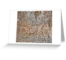 CRUMBLY, STONE, Geology, Climb, Climber, Rough, Tough, Rock and a hard place, Greeting Card