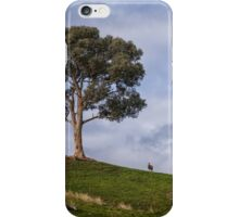 A Tree and Goat iPhone Case/Skin